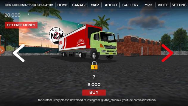 IDBS Indonesia Truck Simulator screenshot 1