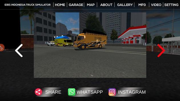 IDBS Indonesia Truck Simulator screenshot 5