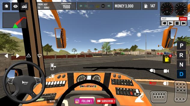 Vietnam Bus Simulator screenshot 3