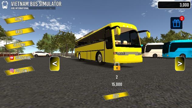 Vietnam Bus Simulator ảnh chụp màn hình 1