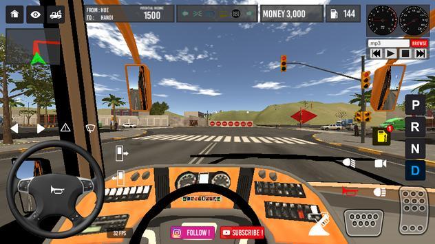 Vietnam Bus Simulator screenshot 1