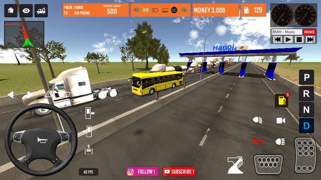 Vietnam Bus Simulator ảnh chụp màn hình 4
