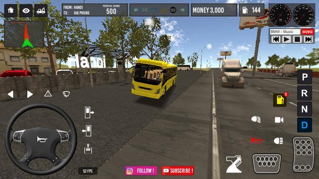 Vietnam Bus Simulator ảnh chụp màn hình 5