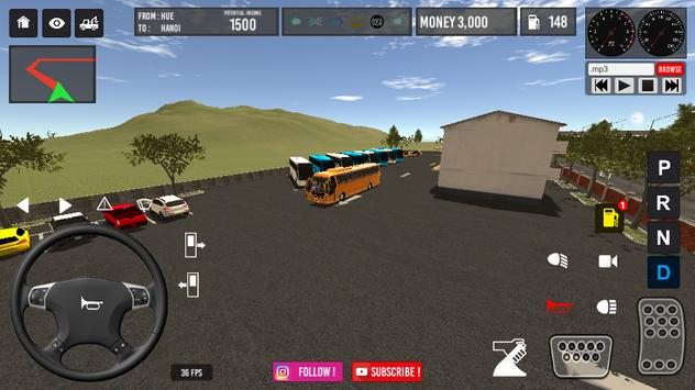 Vietnam Bus Simulator screenshot 5