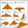 a ideia de fazer aviões de papel origami ícone