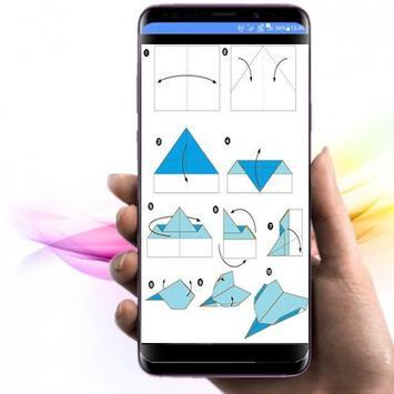 die Idee, Origami-Papierflieger herzustellen Screenshot 1