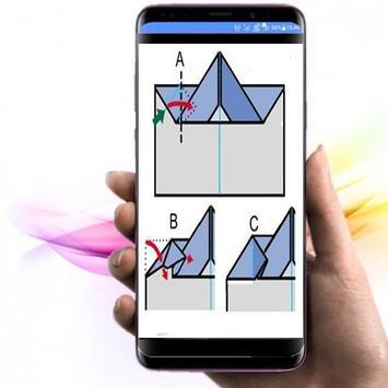 die Idee, Origami-Papierflieger herzustellen Screenshot 2