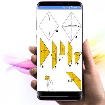 die Idee, Origami-Papierflieger herzustellen Screenshot 3