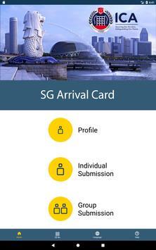 SG Arrival Card screenshot 3