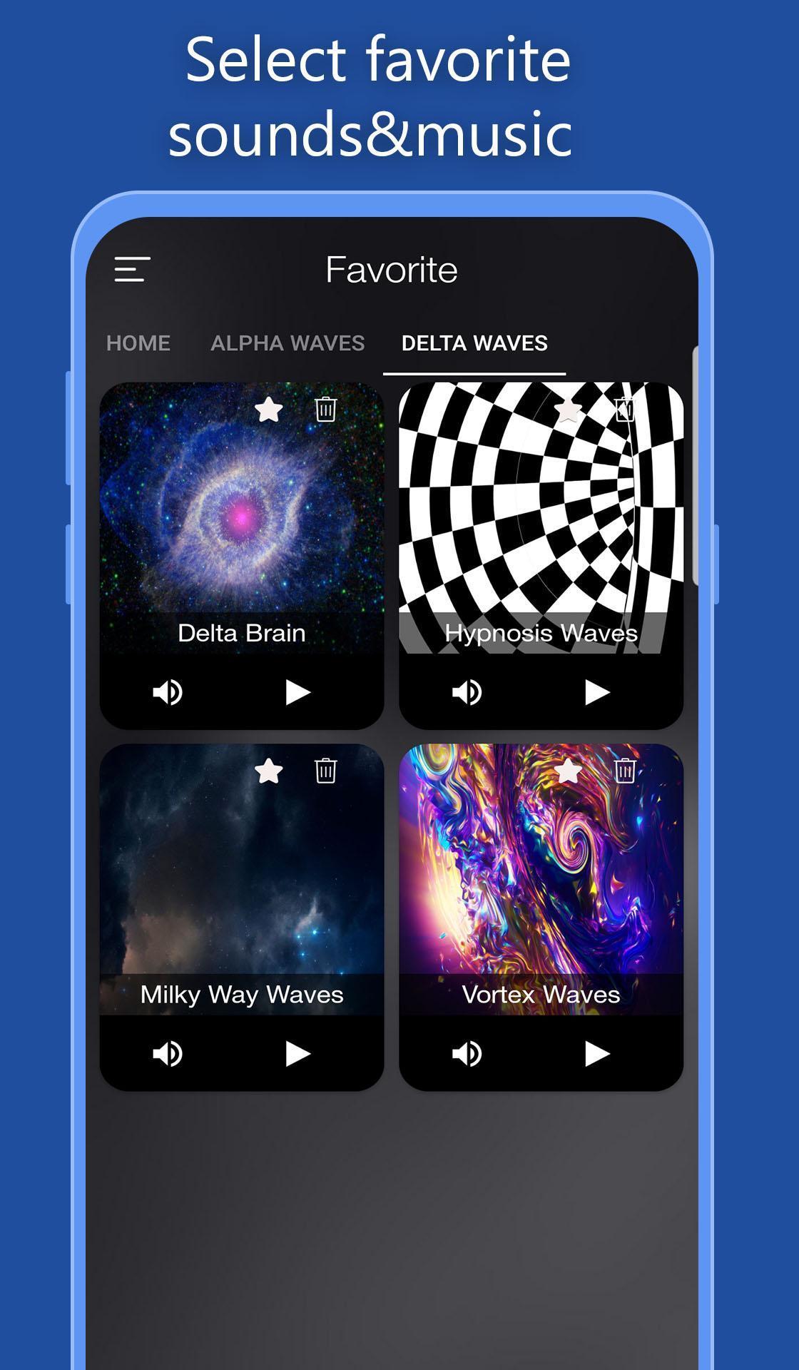 Brain Waves: Deep Sleep, Alpha Waves, Delta Waves for Android - APK