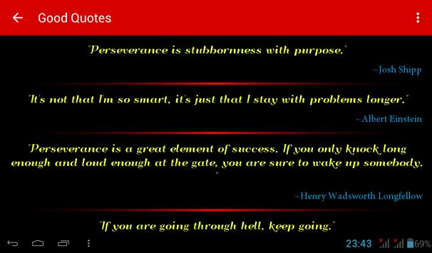 Good Quotes screenshot 6