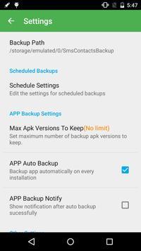 Super Backup screenshot 3