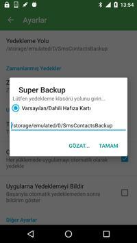 4 Schermata Super Backup