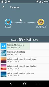 Передача файлов WiFi скриншот 3