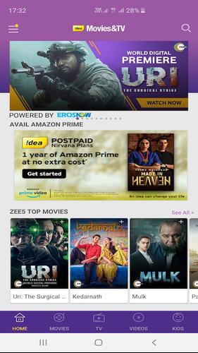Idea Movies & TV - LIVE TV, Movies, TV Shows for Android
