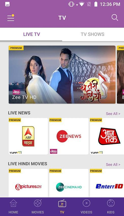 Idea Movies & TV - LIVE TV, Movies, TV Shows for Android - APK Download