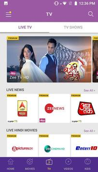 Idea Movies & TV - LIVE TV, Movies, TV Shows स्क्रीनशॉट 4