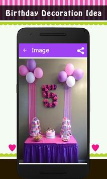 Birthday Decoration Idea screenshot 2