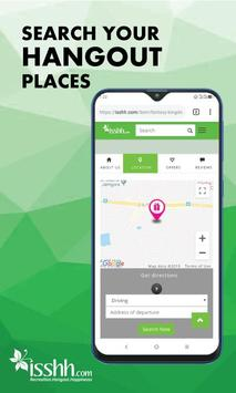 isshh - Search Your Hangout Places screenshot 11