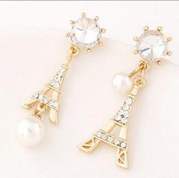 latest gold earrings ideas screenshot 10