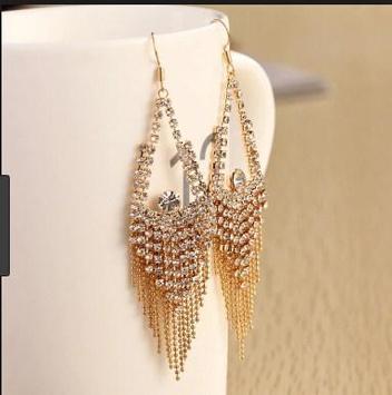latest gold earrings ideas screenshot 7