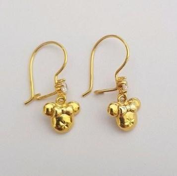 latest gold earrings ideas screenshot 8
