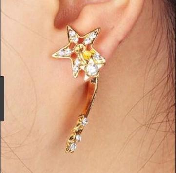 latest gold earrings ideas screenshot 9