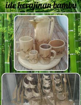 bamboo craft ideas poster