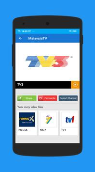 TV Malaysia Live- Free Online TV screenshot 2