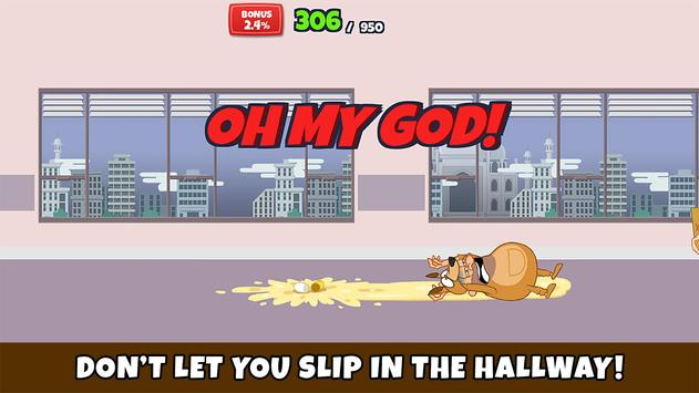 Toilet Dash: Run for a promotion screenshot 1
