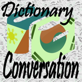 Dictionary and Conversation Korean Filipino icon