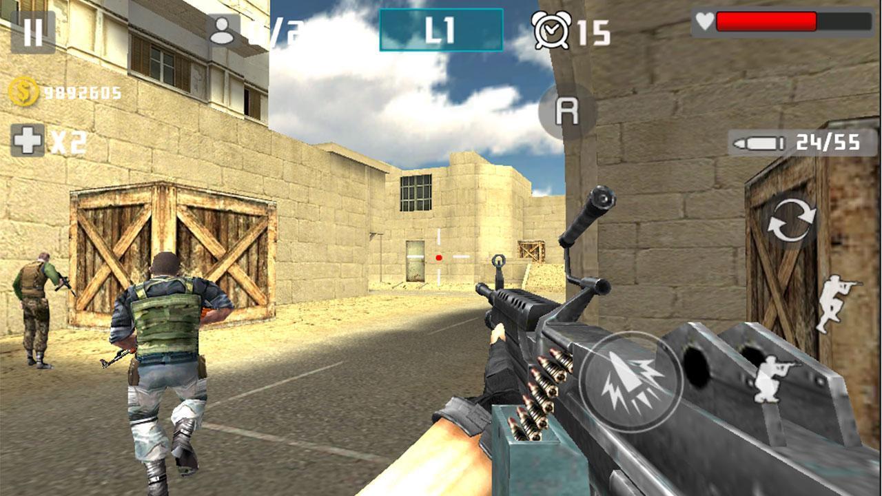 3D Gun Games No Download gun shot fire war for android - apk download