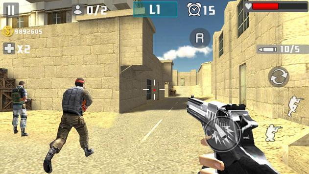 Gun Shot Fire War screenshot 1