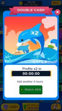 Idle Aquarium Tycoon screenshot 1