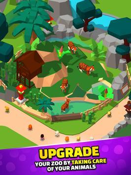 Idle Zoo Tycoon 3D скриншот 3