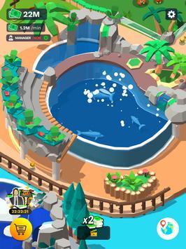 Idle Zoo Tycoon 3D скриншот 5