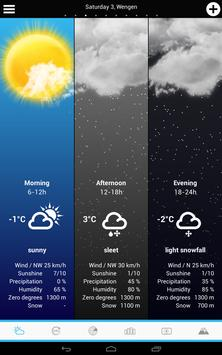 Swiss Weather screenshot 14