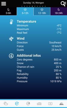 Swiss Weather screenshot 17