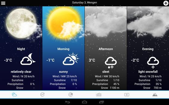 Swiss Weather screenshot 8