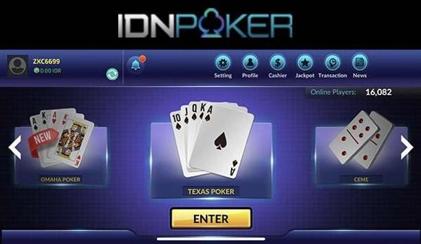 IDN Poker - Texas Holdem Online for Android - APK Download