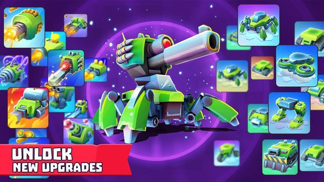 Tanks A Lot! - Realtime Multiplayer Battle Arena تصوير الشاشة 3