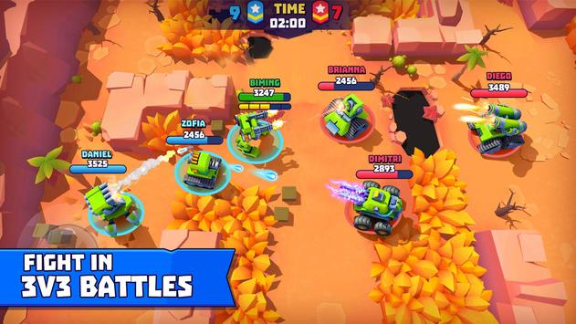 Tanks A Lot! - Realtime Multiplayer Battle Arena الملصق