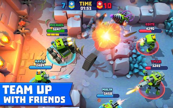 Tanks A Lot! - Realtime Multiplayer Battle Arena screenshot 10