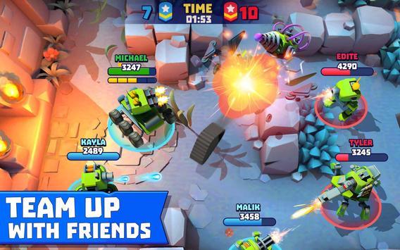 Tanks A Lot! - Realtime Multiplayer Battle Arena تصوير الشاشة 18