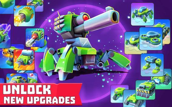 Tanks A Lot! - Realtime Multiplayer Battle Arena تصوير الشاشة 19