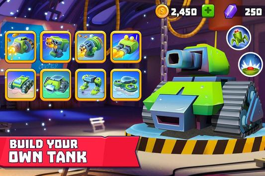 Tanks A Lot! - Realtime Multiplayer Battle Arena screenshot 1