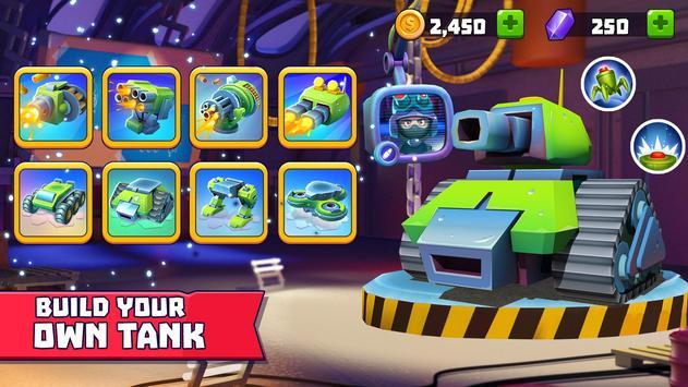 Tanks A Lot! - Realtime Multiplayer Battle Arena تصوير الشاشة 1