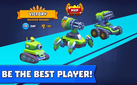 Tanks A Lot! - Realtime Multiplayer Battle Arena تصوير الشاشة 12