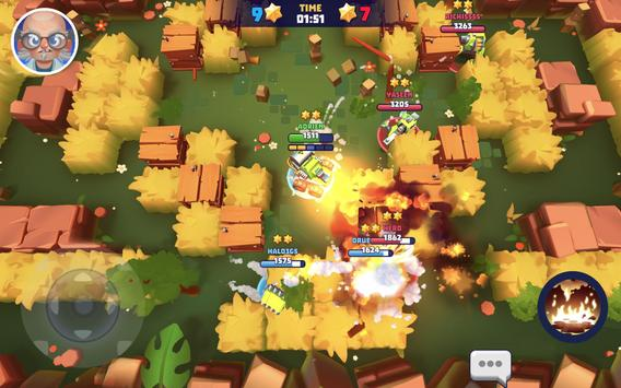 Tanks A Lot! - Realtime Multiplayer Battle Arena स्क्रीनशॉट 23