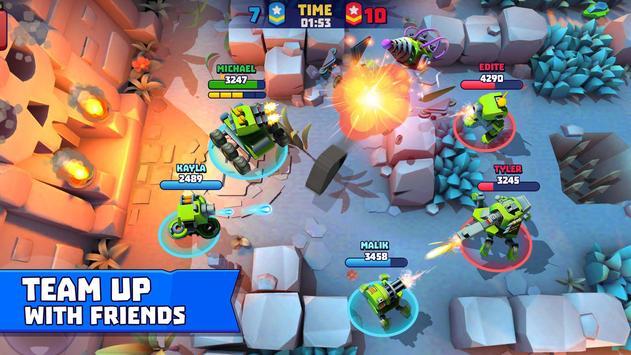 Tanks A Lot! - Realtime Multiplayer Battle Arena 截图 2